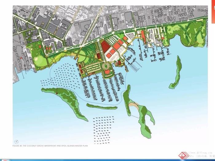 某现代海滨和岛屿总体城市规划pdf方案[原创]图片