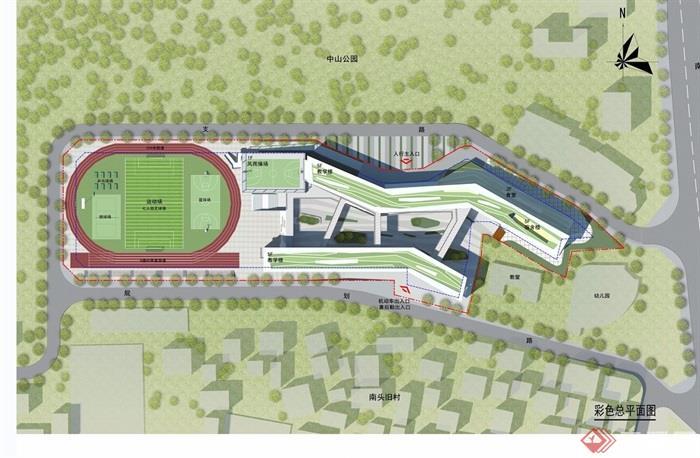 南头城小学建筑设计jpg方案,方案为现代风格,方案绘制详细精致完整,具有一定的使用价值,欢迎下载使用。