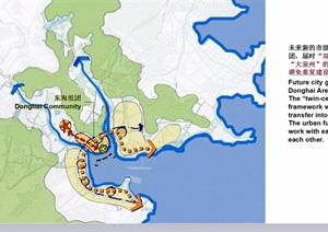 某现代详细滨海新城市设计ppt方案