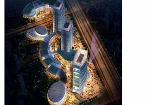某现代详细星级酒店规划pdf方案