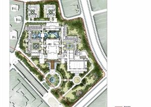 某详细的生态城酒店景观设计jpg方案