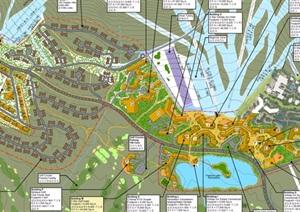 某欧式风格酒店景观设计pdf方案