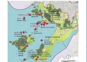 某详细海峡两岸创意农业城规划设计pdf方案