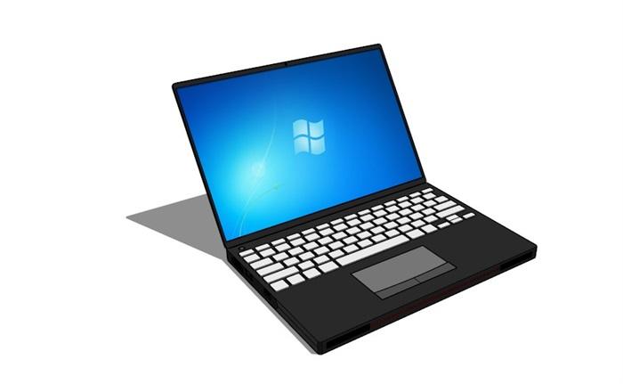 电脑与手机素材su模型[原创]