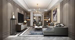 【西安龍發裝飾公司】建邦華庭150㎡三居室|現代簡約風格|裝修效果圖