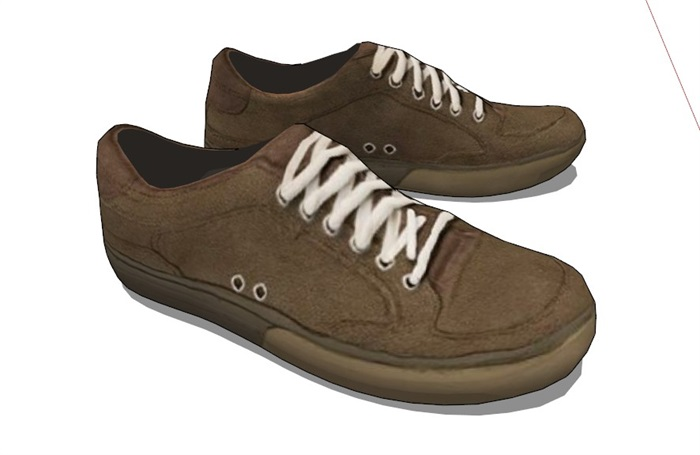 鞋子18套精選su模型(5)