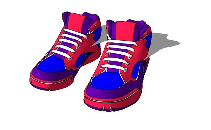 鞋子18套精選su模型(6)