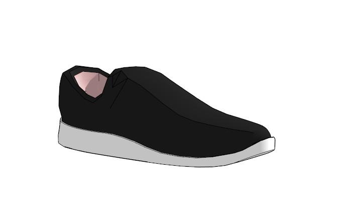 鞋子18套精選su模型(15)