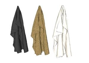衣物、挂钩素材SU(草图大师)模型