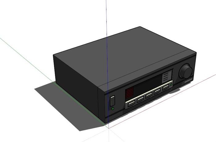 多媒體電器63套合集精細su模型(2)