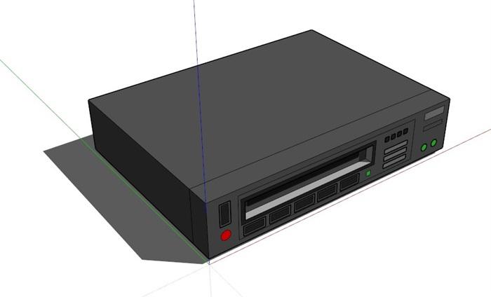 多媒體電器63套合集精細su模型(3)