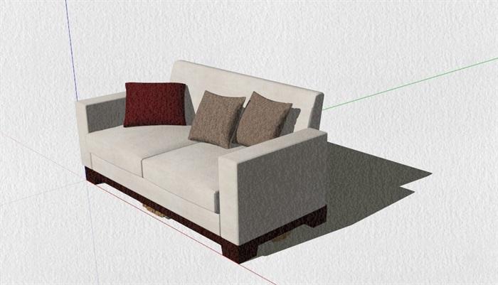 新式的中式家具23套合集精細su模型(7)