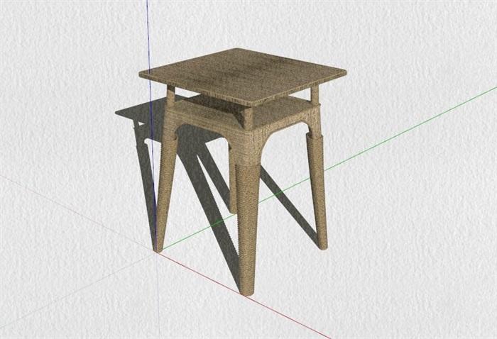 新式的中式家具23套合集精細su模型(11)