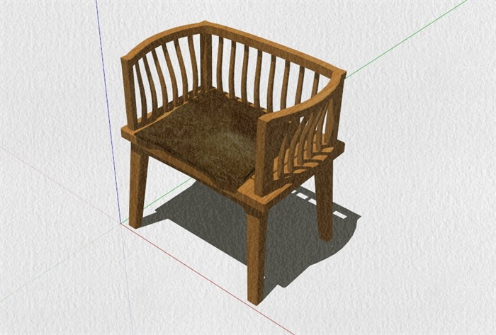 新式的中式家具23套合集精細su模型(12)
