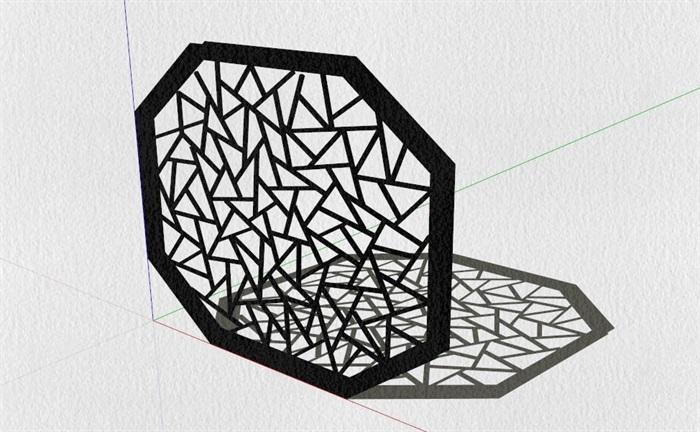新式的中式家具23套合集精細su模型(16)
