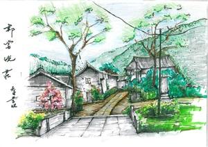 中式酒店详细景观设计jpg文本
