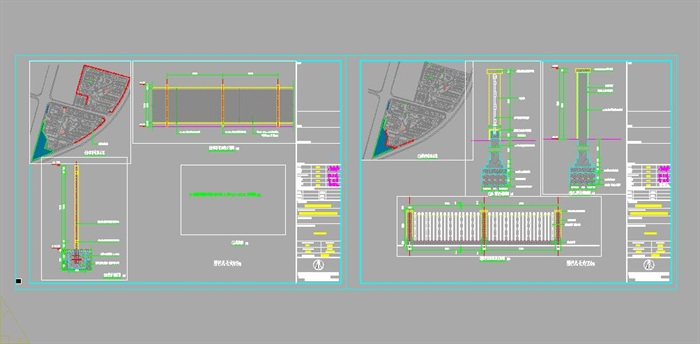 XT-012-013圍墻方案詳圖(3)