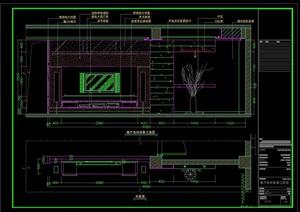 幾個室內裝飾立面施工CAD節點大樣圖