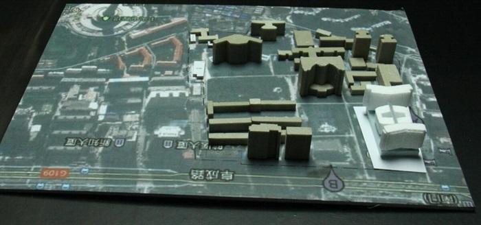 现代大型医院疗养院规划建筑设计文本图片+cad+效果图(4)