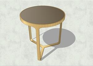 精致簡約特色茶幾設計SU(草圖大師)模型