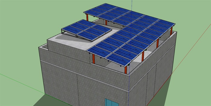 10KW光伏項目發電站(3)