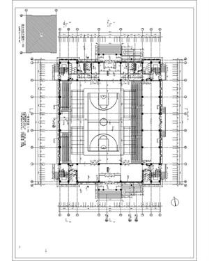 某藝體樓施工圖設計