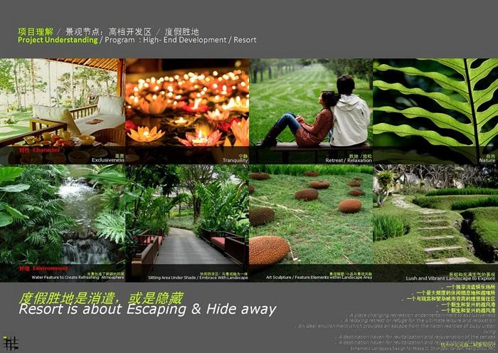 以方案为主题超越墙面之外的形式美-杭州某项目叶子高端景观设计餐厅地产形式怎么装修设计图片