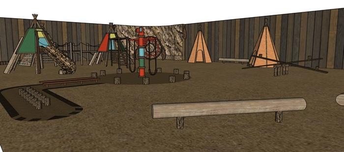 沙漠主題、西部世界兒童樂園(2)