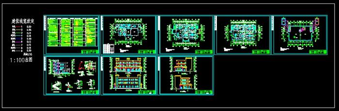 某三層帶電梯中式辦公樓建筑結構施工圖(6)