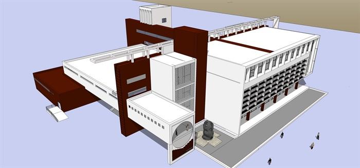 106個圖書館SU模型集合包(2)