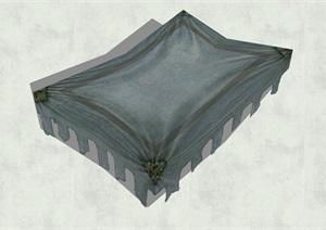 古代人物品素材詳細完整設計SU(草圖大師)模型14