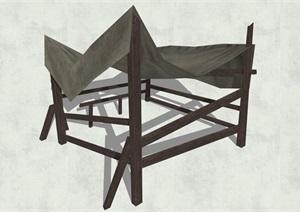 古代人物品素材詳細完整設計SU(草圖大師)模型17