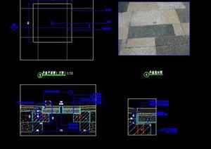 双层井盖装饰井盖美化井盖施工图详图