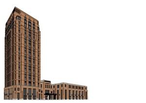 某新古典酒店SU(草圖大師)模型精細帥酷