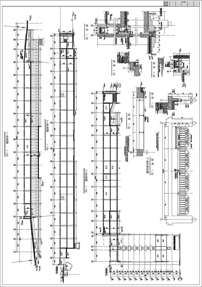 地下商场设计方案及施工全套cad图纸