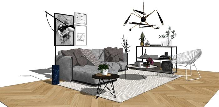 室内沙发组合(2)