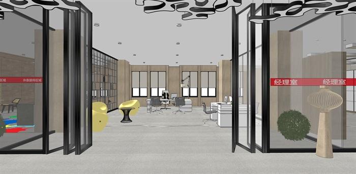 现代办公空间2(3)