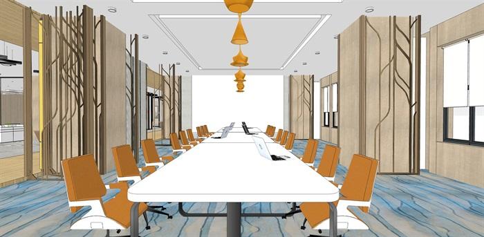 现代办公空间2(5)