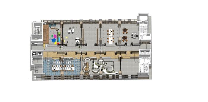 现代办公空间2(7)
