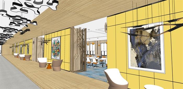 现代办公空间2(12)