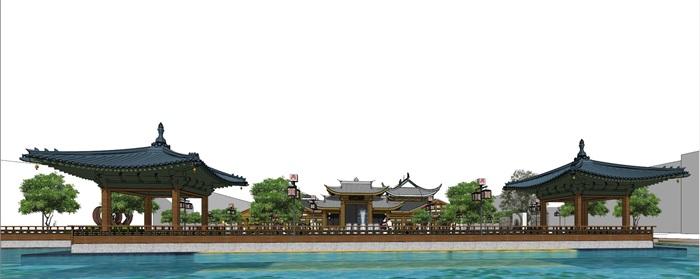 仡佬民俗风情建筑su精细模型收藏(2)