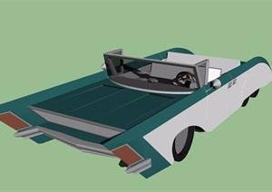 独特造型的汽车设计SU(草图大师)模型