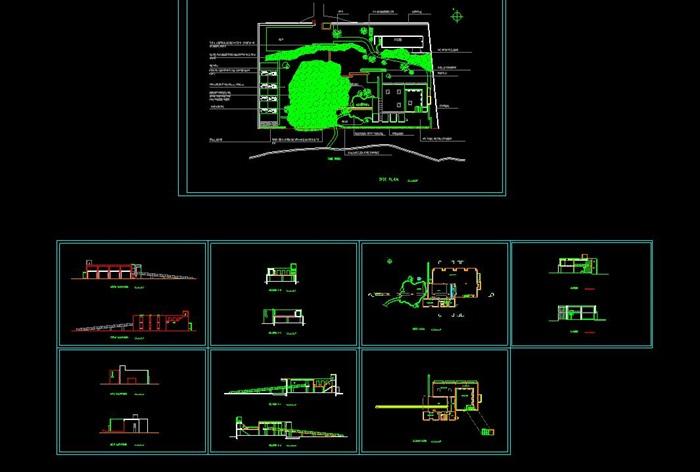 刘家琨大师经典作品鹿野苑石刻博物馆 SU+CAD+PDF案例分析(3)