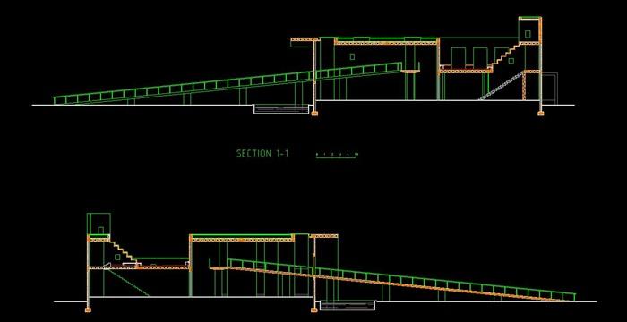 刘家琨大师经典作品鹿野苑石刻博物馆 SU+CAD+PDF案例分析(5)