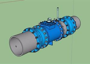 水表素材设计SU(草图大师)模型