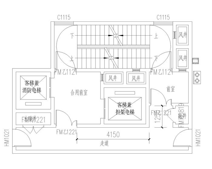 新规高层交通核(3)