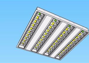 简单的室内灯饰设计SU(草图大师)模型