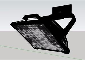 某室内小太阳射灯设计SU(草图大师)模型