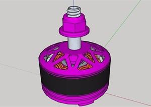 详细电器设备素材SU(草图大师)模型