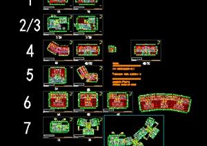 7个高层住宅建筑施工图